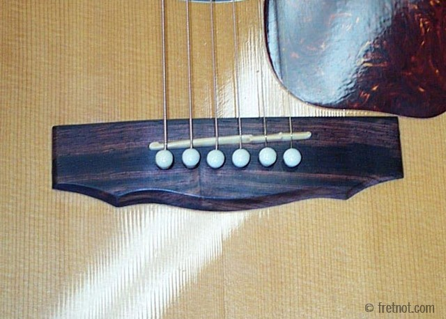 how to slightly raise an acoustic string reddit