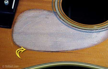 Repairing Cracks In Acoustic Guitars | Examples of Cracks