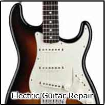 electric guitar repairs