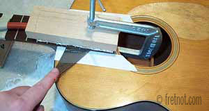 heating fingerboard extension