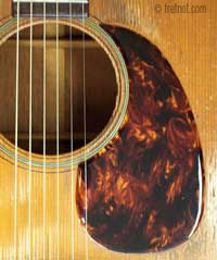 Installing Pickguards On Acoustic Guitars Adhesive