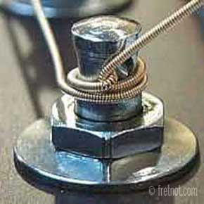 changing guitar strings video winding strings around the tuning machine heads. Black Bedroom Furniture Sets. Home Design Ideas